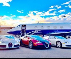 Jet privé, Ferrari, Bugatti, Lamborghini, Porsche… Floyd Mayweather expose son garage sur les réseaux sociaux