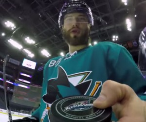 Des GoPro sur les joueurs de NHL pour le All-Star Game ce week-end !