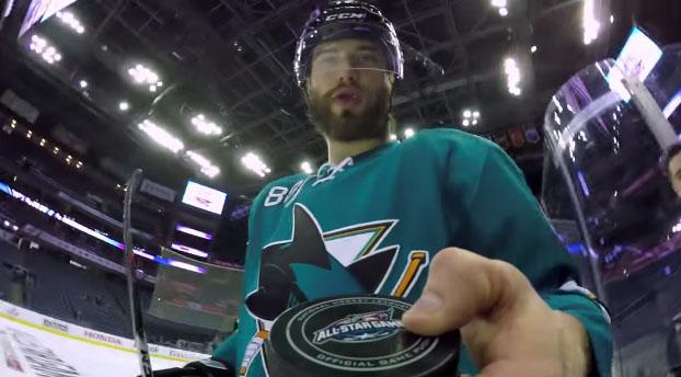 gopro NHL all star game 2015 ice hockey