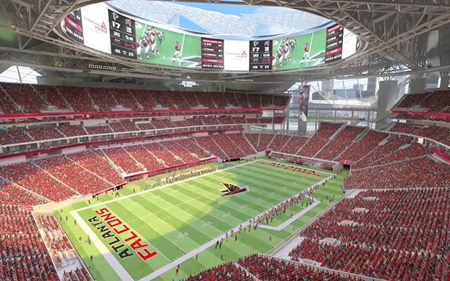 new ATL stadium 2017 NFL