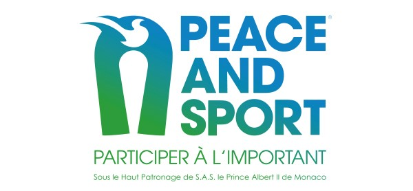 nouveau logo peace and sport