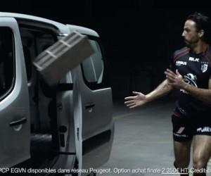 Les secrets du Stade Toulousain dévoilés dans la nouvelle pub Peugeot