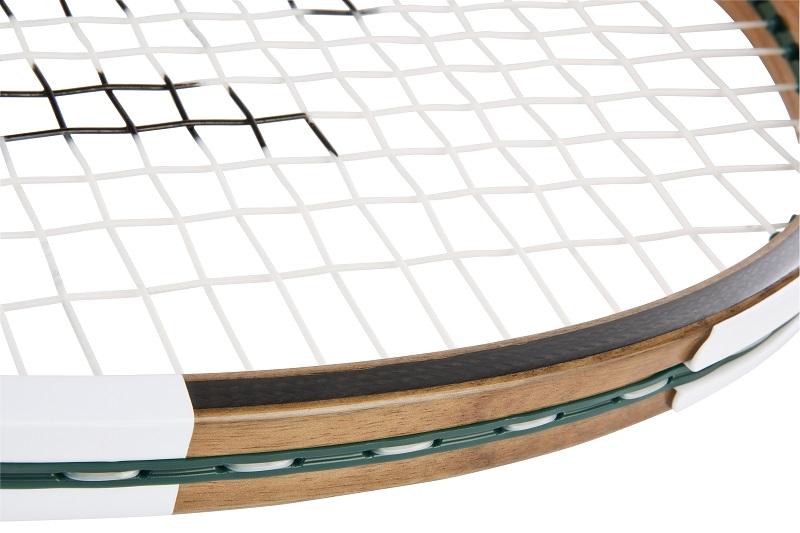 8d36ef5ff9 Lacoste présente sa nouvelle raquette de tennis composée à 70% de bois