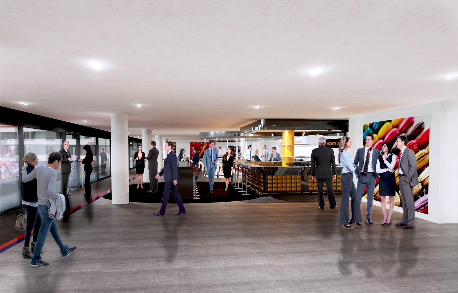 Le parc olympique lyonnais un outil business au service d 39 une experience stade premium - Salon des franchises lyon ...