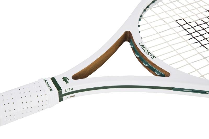 lacoste pr sente sa nouvelle raquette de tennis compos e 70 de bois. Black Bedroom Furniture Sets. Home Design Ideas