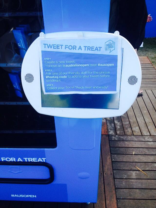 tweet for a treat aus open 2015 twitter digital sport