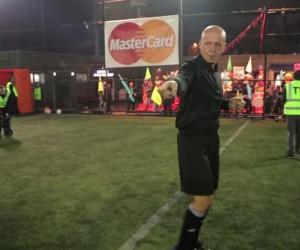 MasterCard offre une expérience «UEFA Champions League» à des joueurs de foot à 5