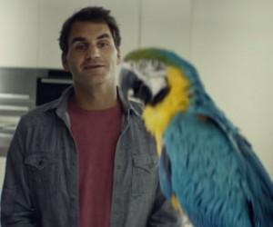 Un jour de congé de Roger Federer mis en scène dans la nouvelle publicité Sunrise