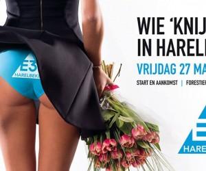 L'affiche du Grand Prix cycliste E3 Harelbeke «rend hommage» au pincement de fesses de Peter Sagan sur une hôtesse
