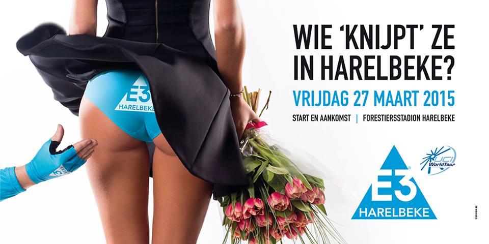 affiche E3 Harelbeke grand Prix cyclisme sexy 2015
