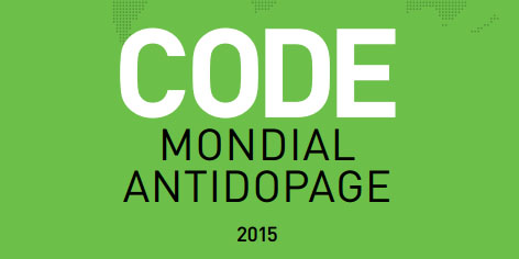 code mondial antidopage 2015