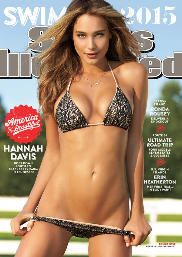 hannah-davis-sports illustrated swimsuit cover 2015