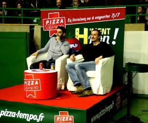 Pizza Tempo régale les supporters du HBC Nantes avec un dispositif «money can't buy»
