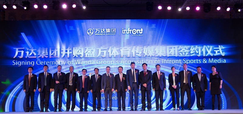 wanda group Infront sports and media