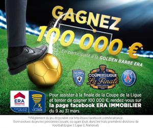 Une Golden Barre à 100 000€ lors de Bastia – PSG (Finale Coupe de la Ligue 2015)