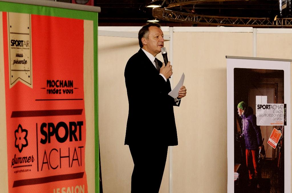 FIFAS - Thierry Braillard - Sport-Achat filière de l'économie du sport