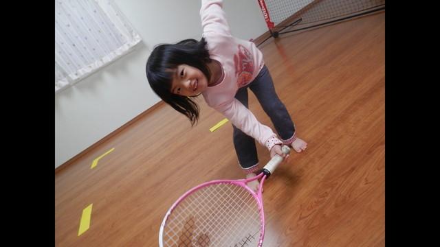 Maki Otomo tennis japan baby
