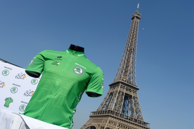 SKODA Laurent Lachot maillot vert Tour de France