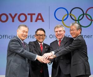 JO – Toyota devient partenaire TOP du CIO jusqu'en 2024. Un contrat de 8 ans à 835M$ ?