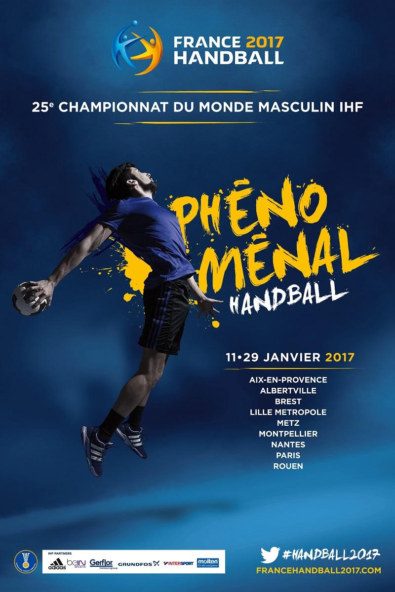 le championnat du monde de handball 2017 en france se d voile. Black Bedroom Furniture Sets. Home Design Ideas