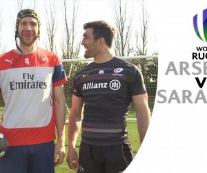 Emirates met les joueurs d'Arsenal au rugby