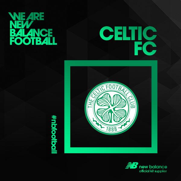 celtic FC New balance kit football sponsorship