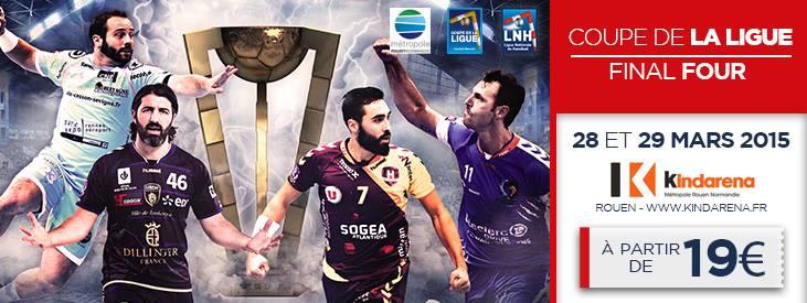 Concours 2x2 places pour le final four de la coupe de la - Billetterie finale coupe de la ligue 2015 ...
