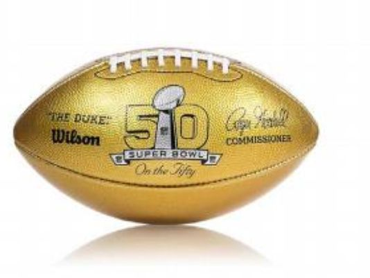 golden ball Super Bowl 50