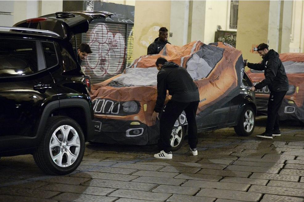 Jeep active son partenariat avec la Juventus Turin de Paul Pogba