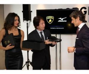 Lamborghini et Mizuno s'associent pour 5 ans et dévoilent la chaussure de running co-brandée Wave Tenjin