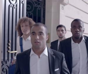 PSG – David Luiz, Javier Pastore, Blaise Matuidi et Lucas Moura dans la nouvelle publicité TV NIVEA MEN