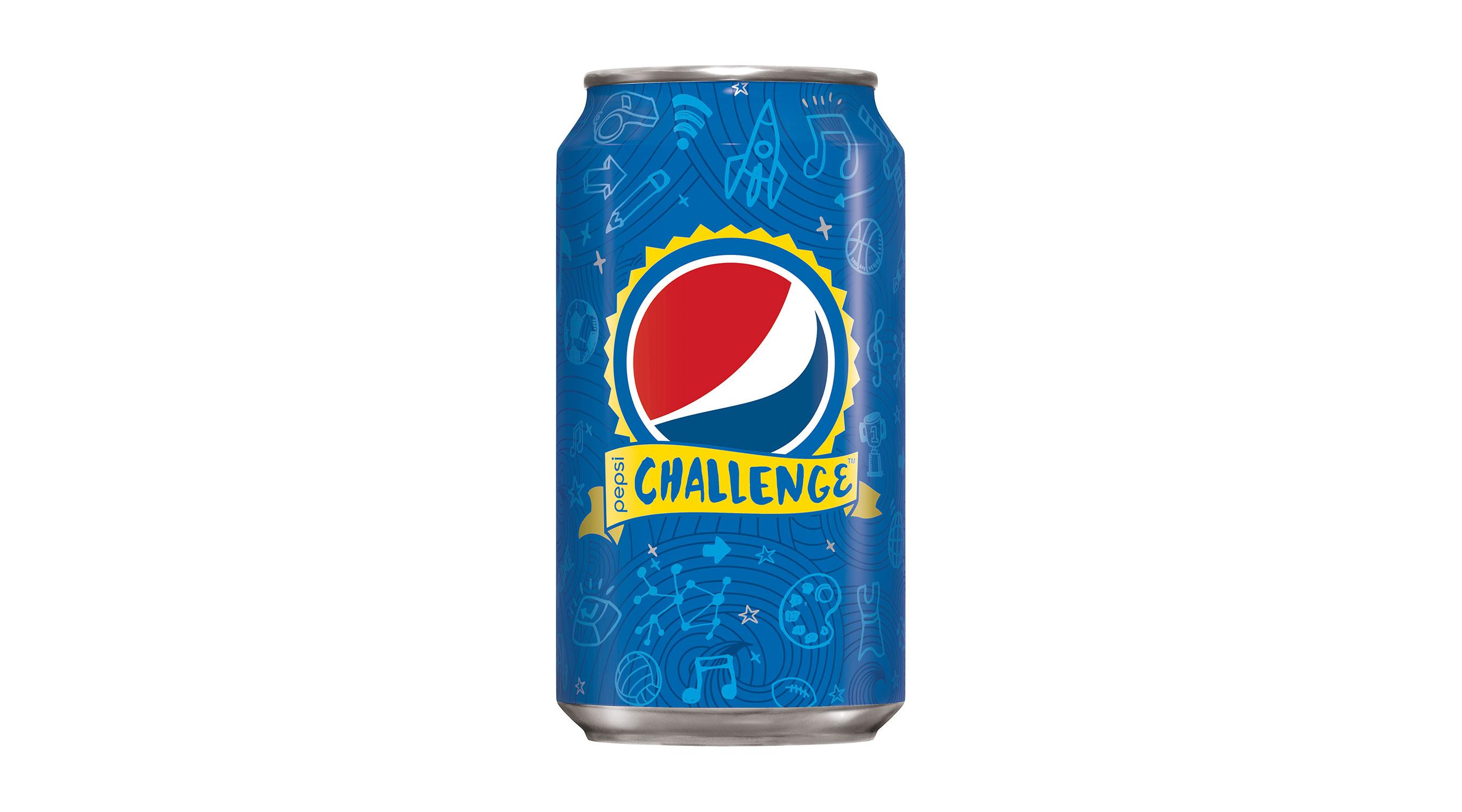 pepsi challenge can