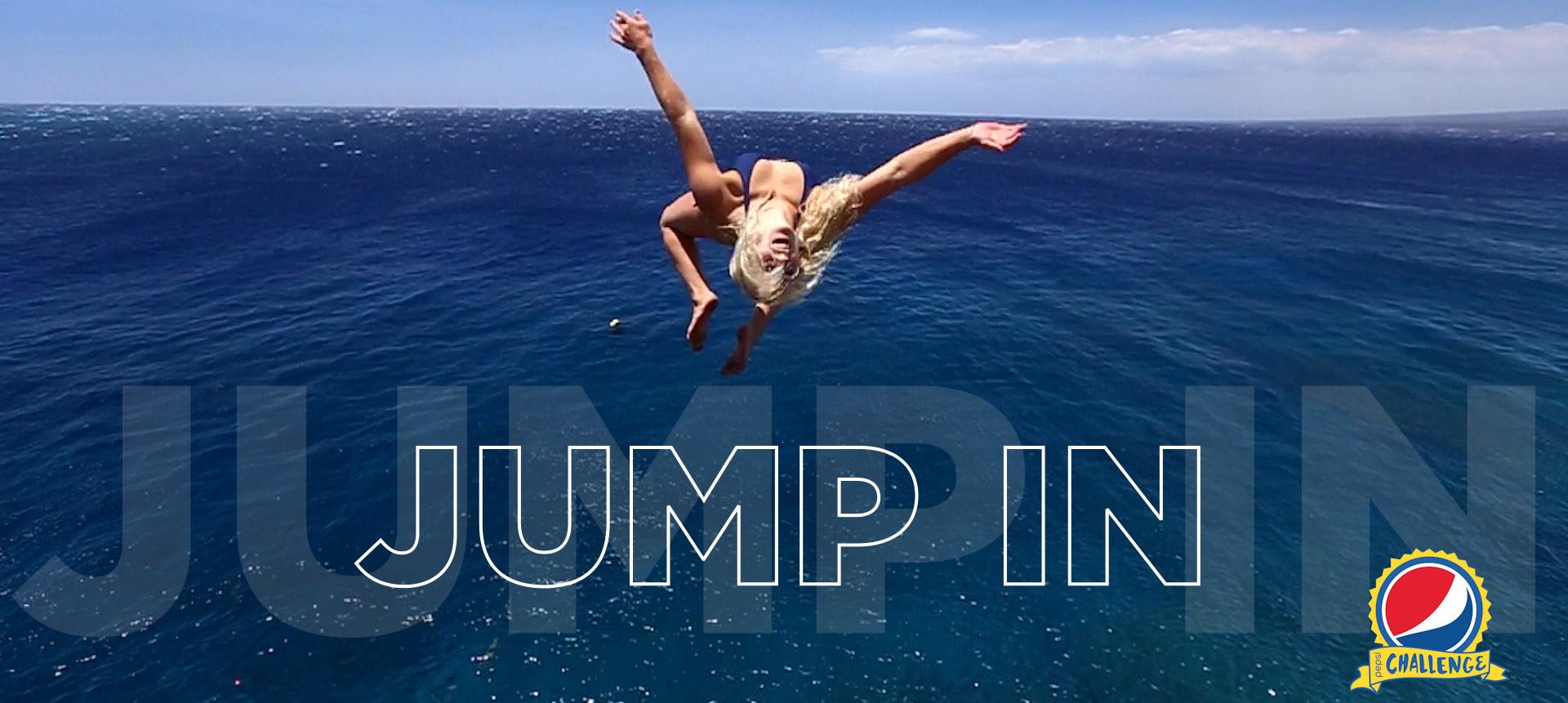 pepsi challenge jump