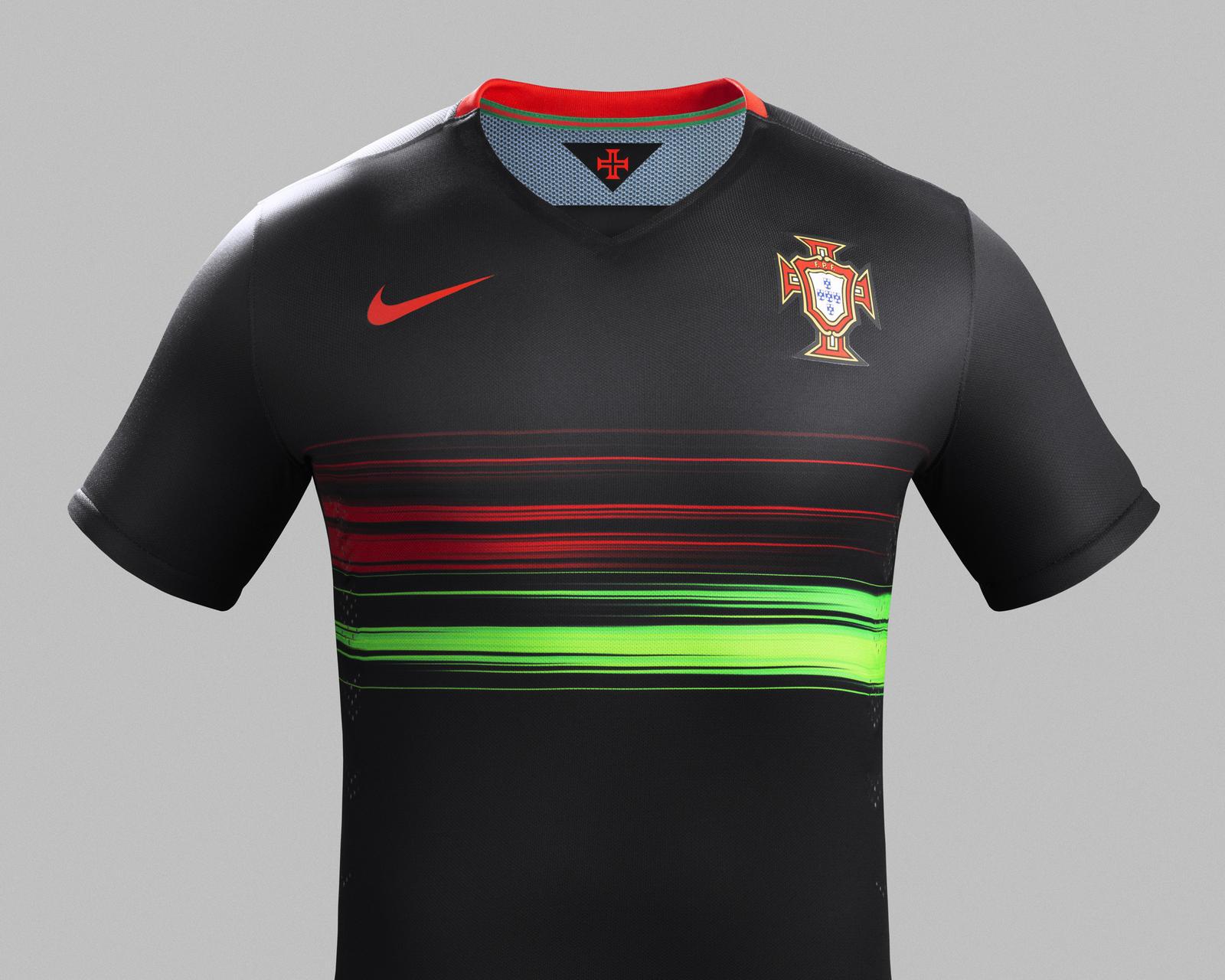 nouveaux maillots away du portugal et des pays bas nike. Black Bedroom Furniture Sets. Home Design Ideas