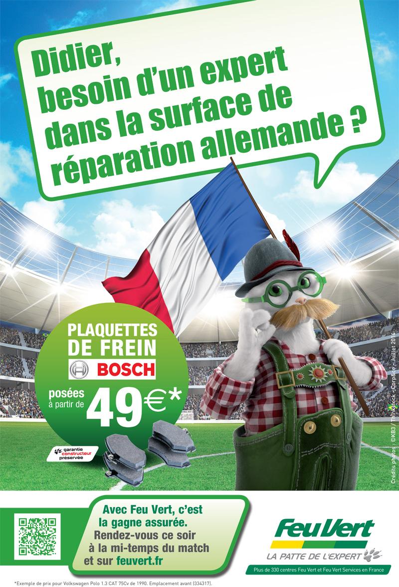 pub feu vert france allemagne coupe du monde de football 2014