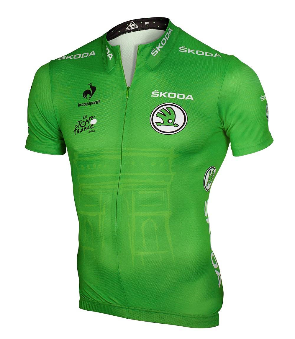 skoda maillot vert tour de france 2015