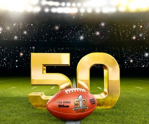 NFL – Une campagne en Or pour le 50ème Super Bowl