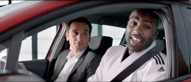teddy riner publicité renault french touch