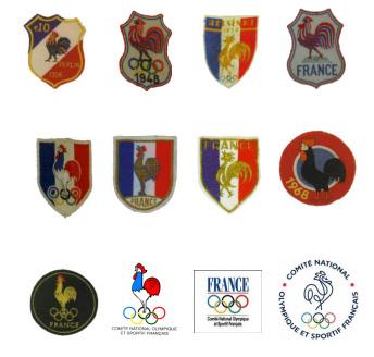 évolution des logos du CNOSF