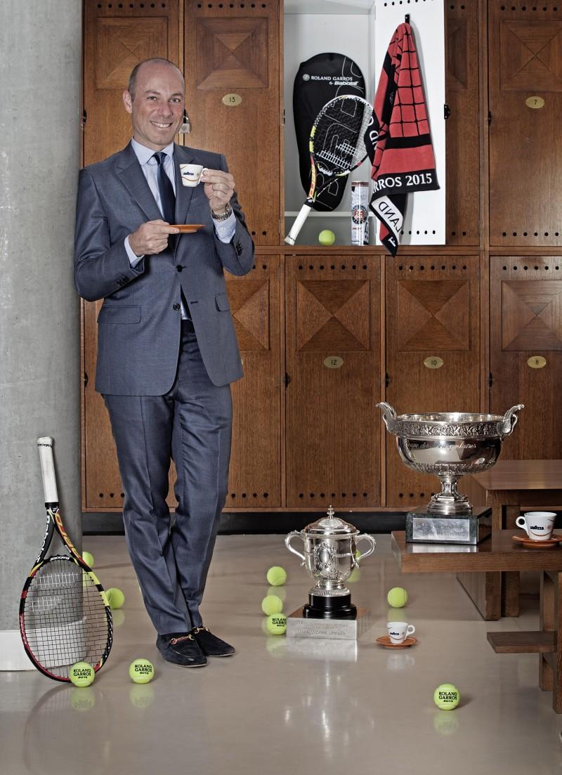 Giuseppe Lavazza Roland Garros