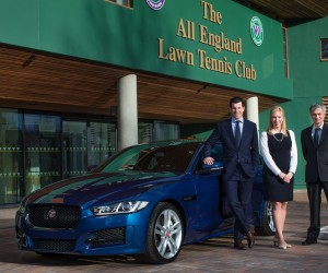 Jaguar devient voiture officielle de Wimbledon et met en scène José Mourinho
