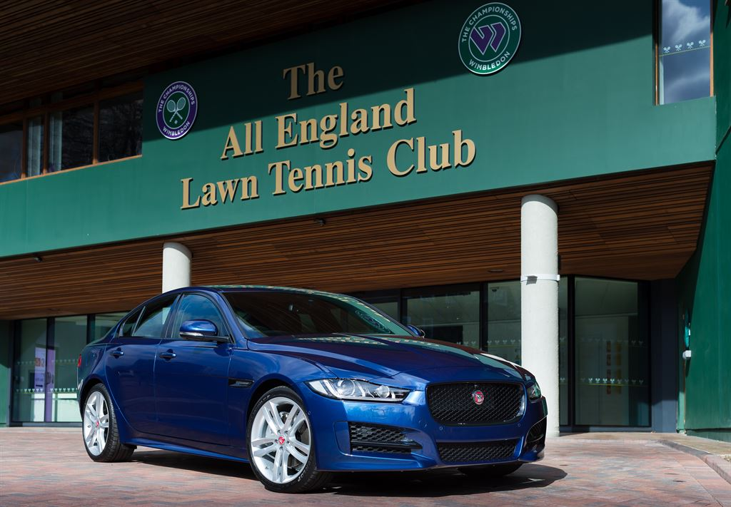 Jaguar Wimbledon 2015 official car