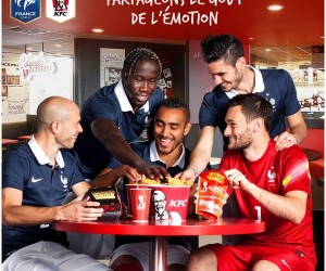 Comment KFC active son partenariat avec l'Equipe de France de Football