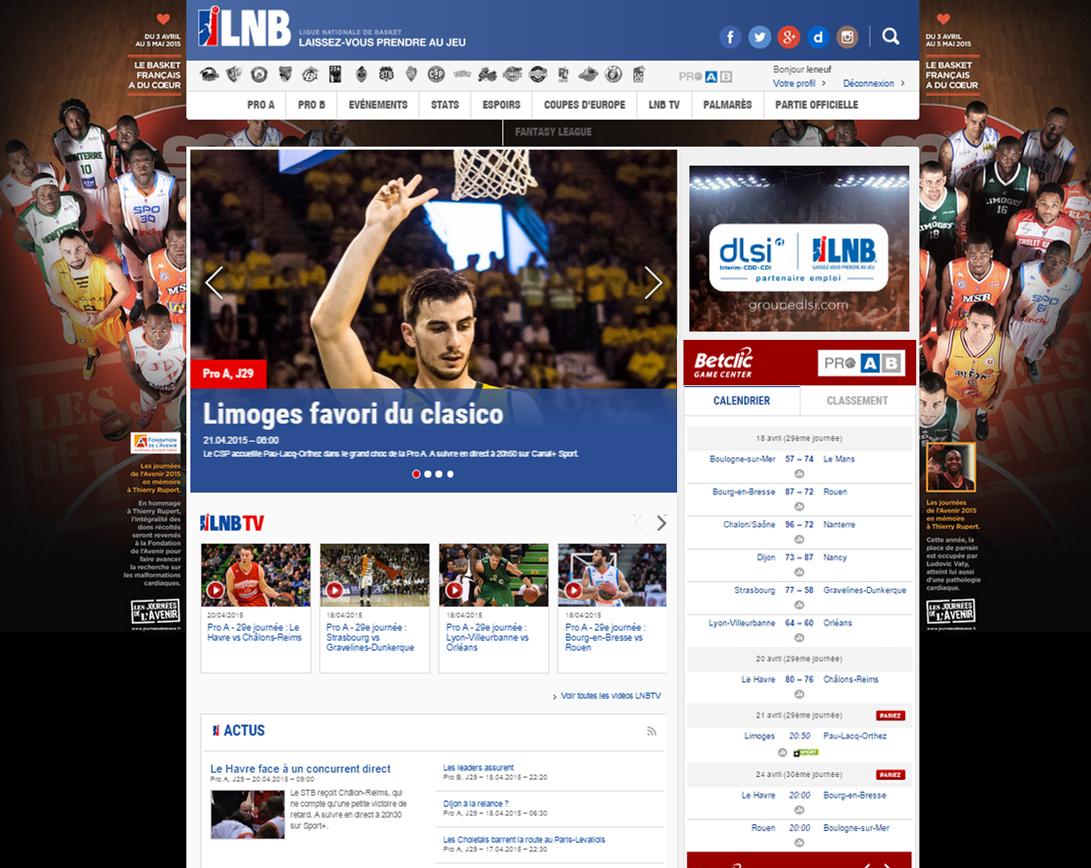 LNB Betclic Game Center