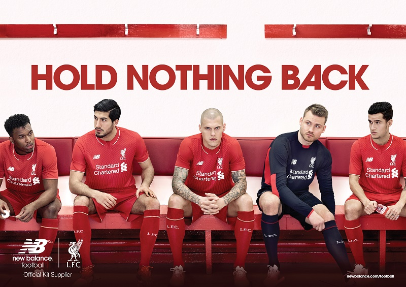 Liverpool FC New Balance kit 2015-2016 official launch