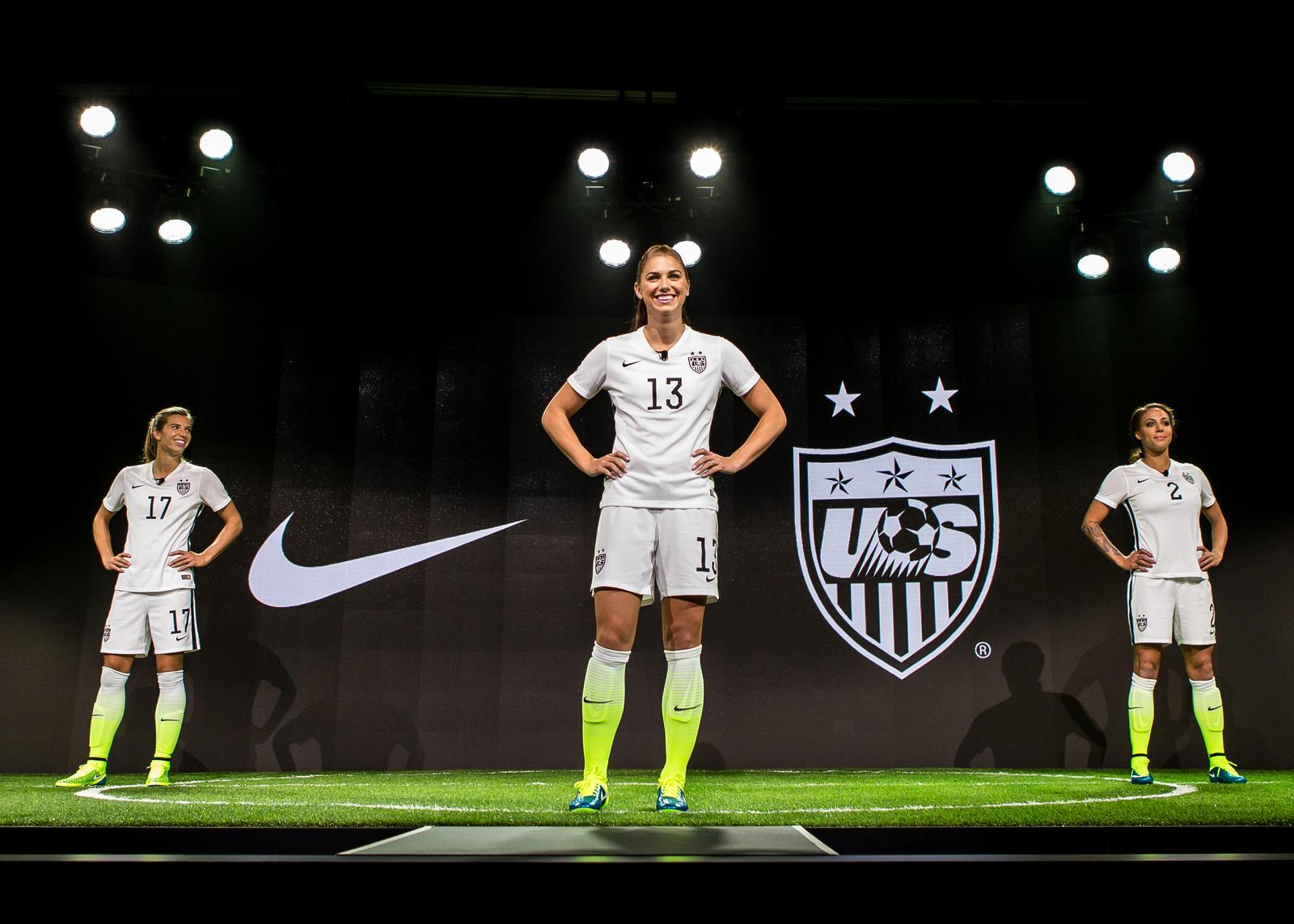 Nike women USA kits world cup 2015