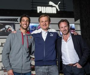 F1 – Puma signe avec l'écurie Red Bull