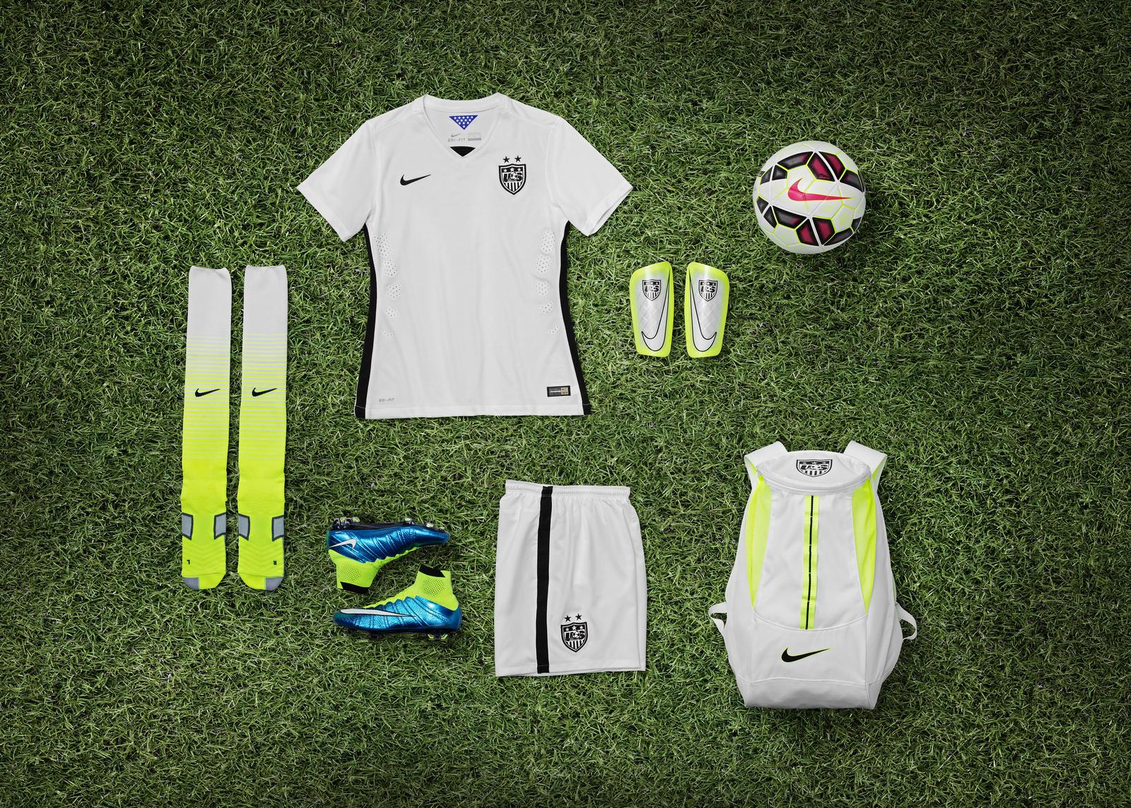 USA women kit 2015 Nike soccer world cup