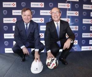 VINCI nouveau partenaire du Paris FC pour en faire le 2ème grand club de la capitale. Bientôt le déménagement au Stade de France ?