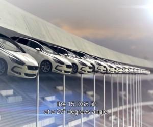 PSG / Citroën – 15 voitures DS à 30 mètres de haut au Parc des Princes pour la «DS Lounge Experience» ?
